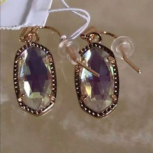 GORGEOUS Kendra Scott dichroic Lee earrings